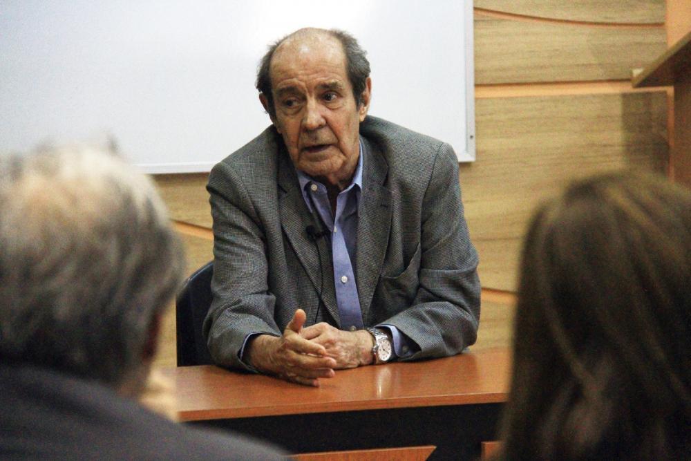 Barandier, em 2014, participou do projeto Memórias da Advocacia, da OABRJ / Foto: Lula Aparício