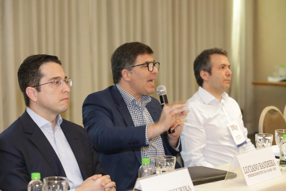 Fábio Nogueira, Luciano Bandeira e Marcello Oliveira / Foto: Lula Aparício