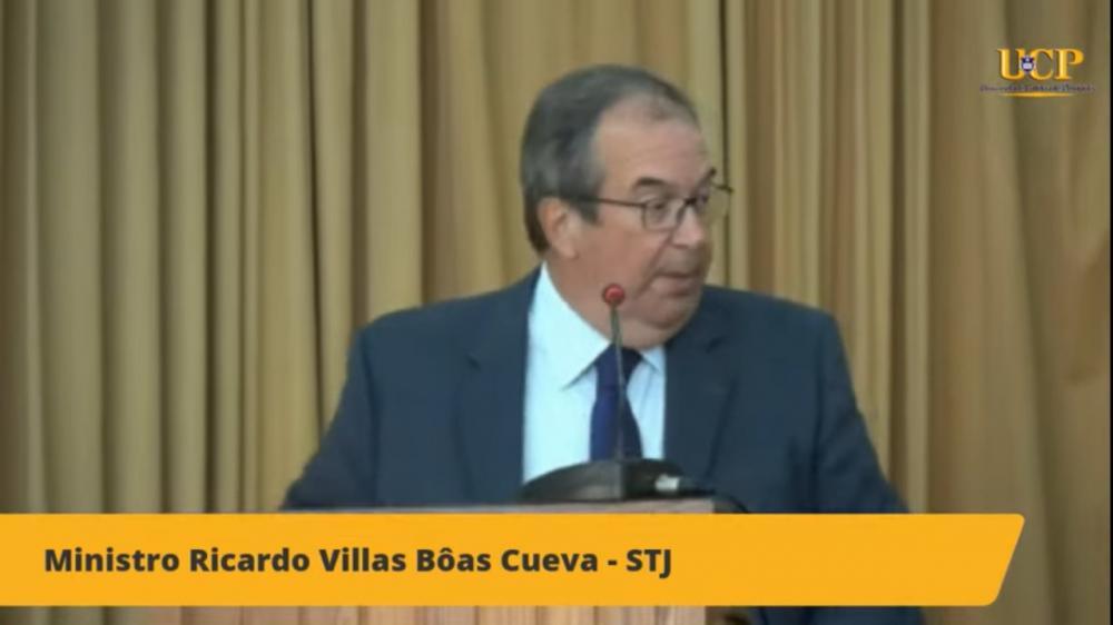 Ministro Ricardo Cuêvas / Imagem: Transmissão canal OABRJ no YouTube