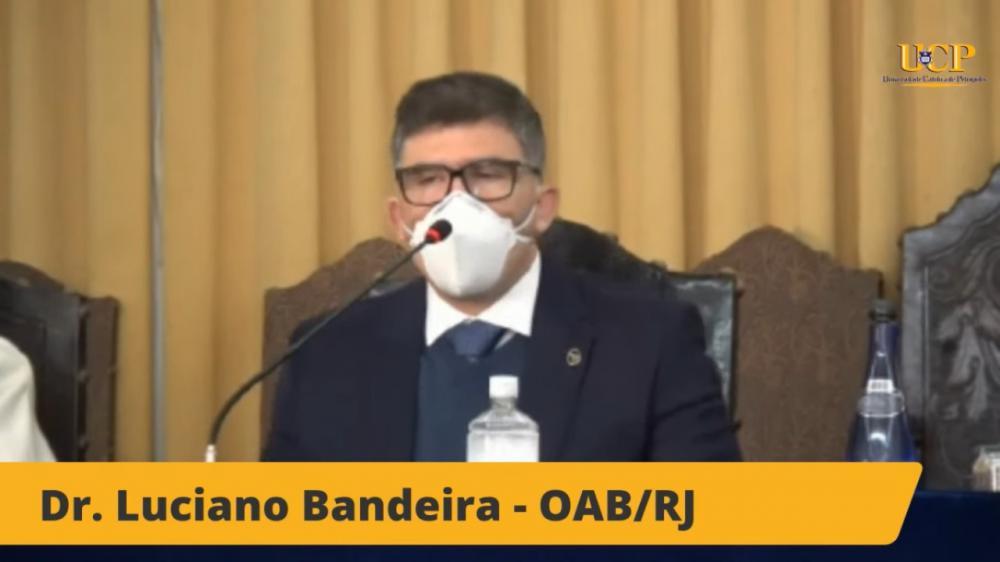 Luciano Bandeira / Imagem: Transmissão canal OABRJ no YouTube