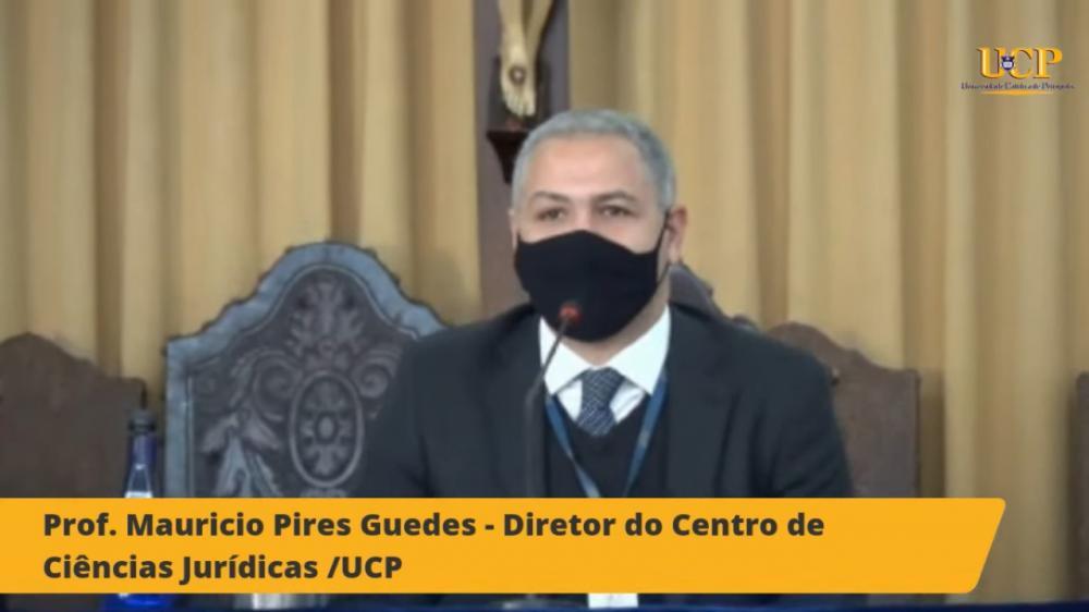 Maurício Guedes / Imagem: Transmissão canal OABRJ no YouTube