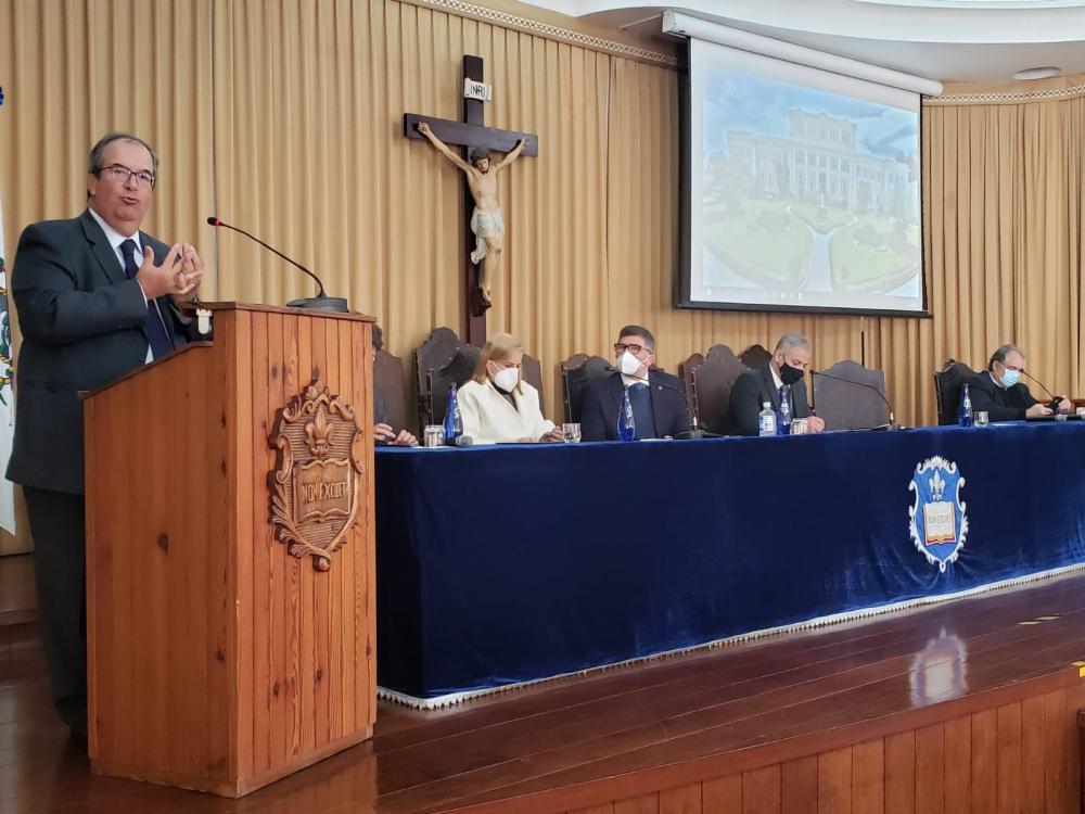 Ministro Ricardo Cuêva abriu o ciclo de palestras da OABRJ com ministros do STJ / Foto: Eduardo Sarmento