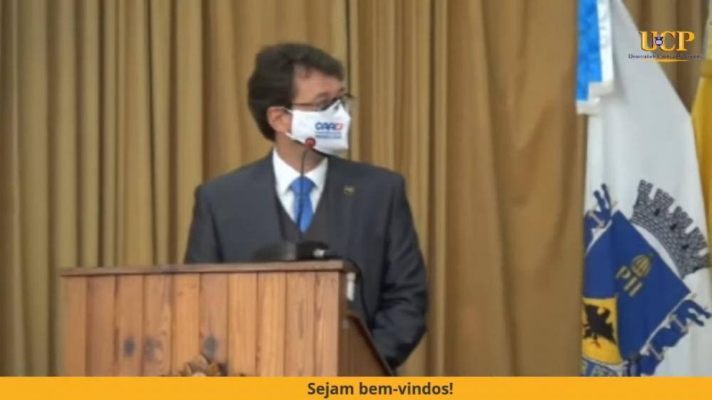 Marcelo Schaefer /  Imagem: Transmissão canal OABRJ no YouTube