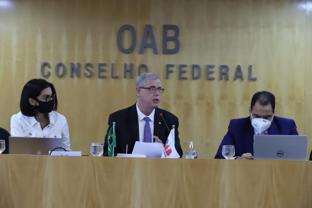 Parte dos dirigentes de Ordem estavam na sede da entidade, em Brasília / Foto: Eugênio Novaes
