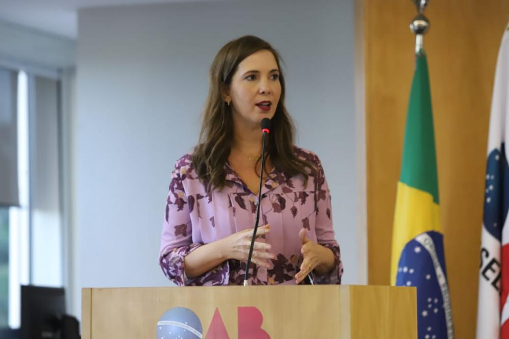 Presidente da Comissão Nacional da Mulher Advogada, Daniela Borges / Foto: Eugênio Novaes