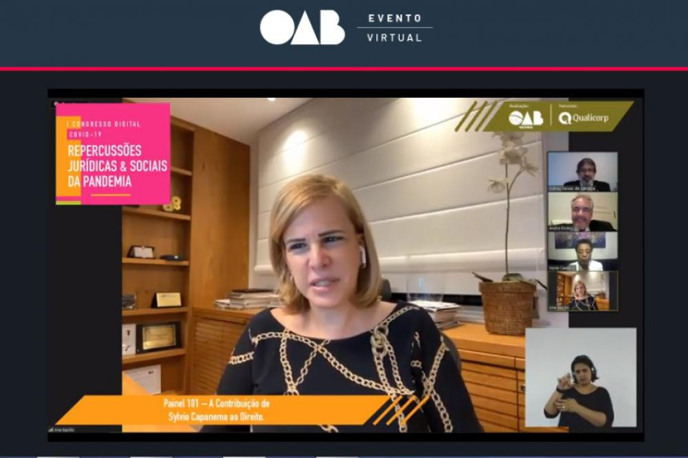 Ana Tereza Basílio, vice-presidente da OABRJ