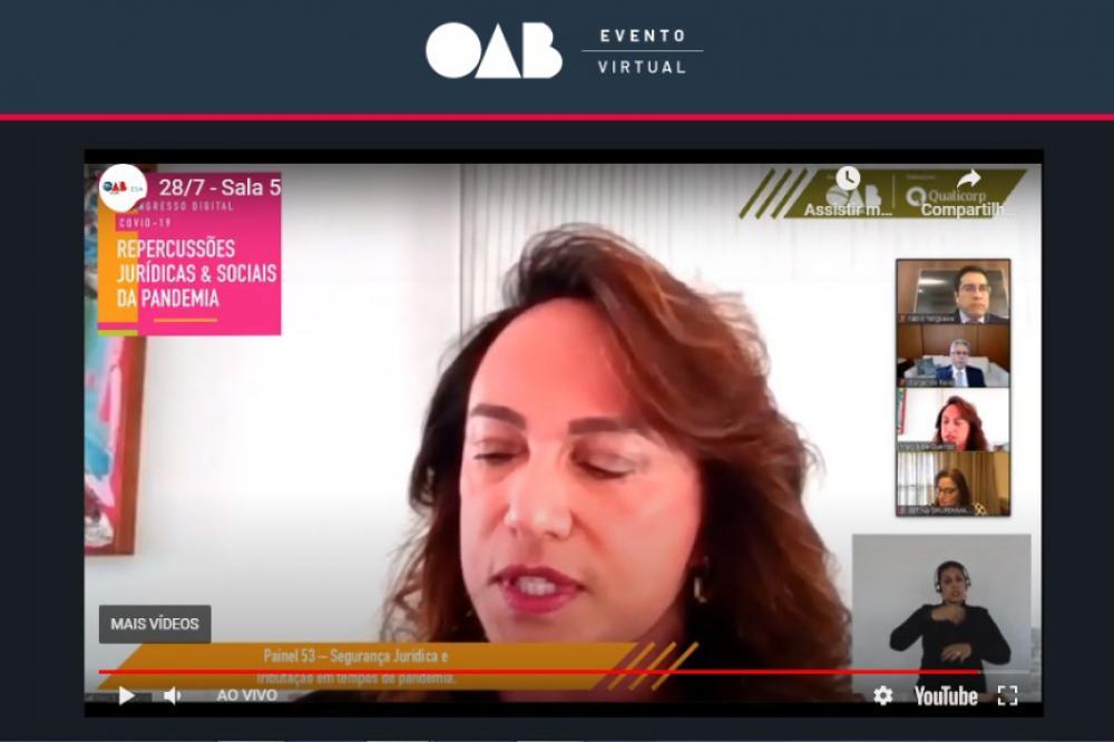 Mary Elbe Queiroz, presidente do Instituto Pernambucano de Estudos Triburários (Ipet)