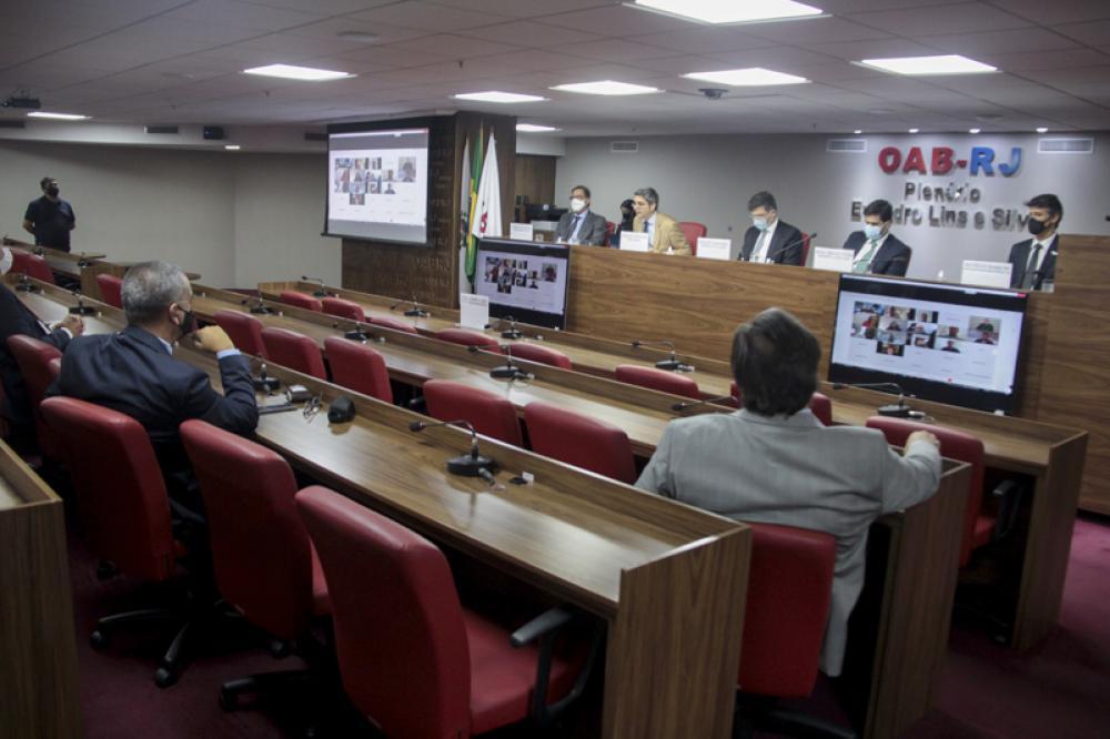 Evento foi realizado de forma híbrida / Foto: Bruno Marins