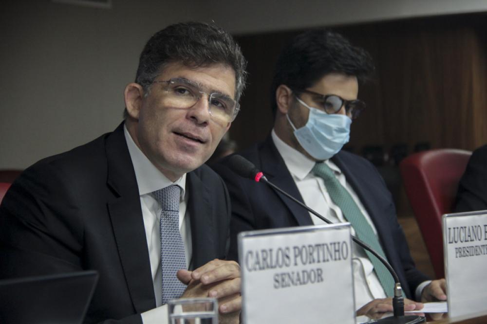 Presidente da OABRJ, Luciano Bandeira participou da mesa de abertura / Foto: Bruno Marins