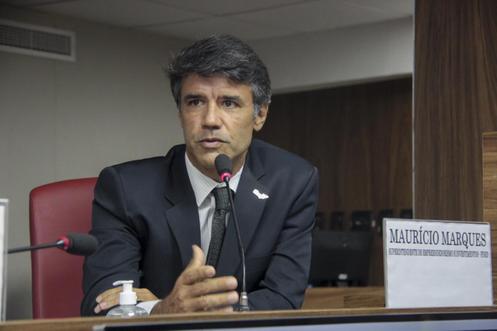 Maurício Marques, superintendente de Empreendedorismo e Investimentos (Finep) / Foto: Bruno Marins