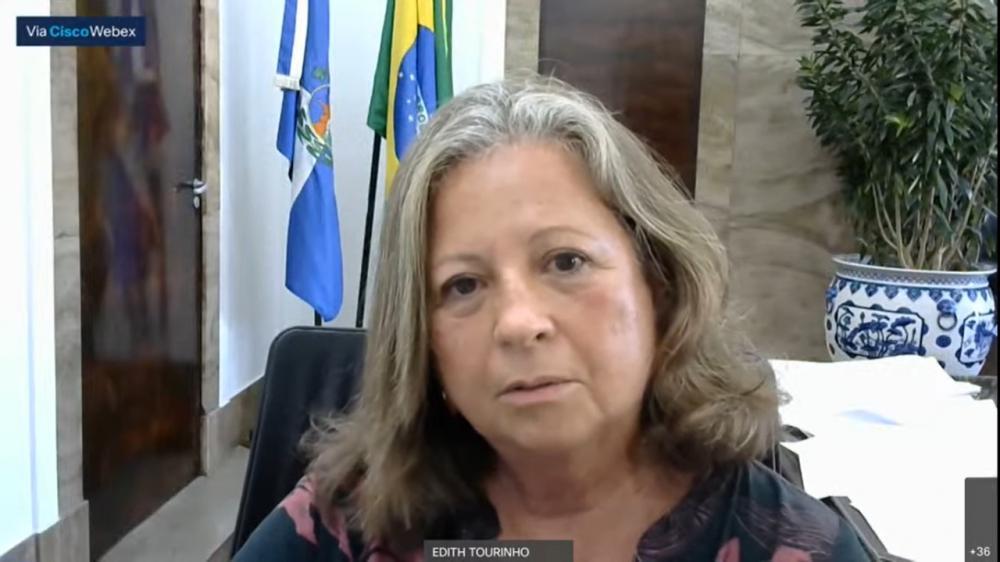 Edith Tourinho, presidente do TRT1