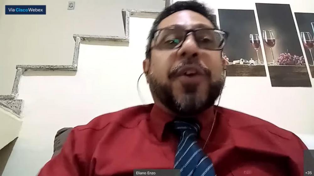 Eliano Enzo, presidente da OAB/São Gonçalo