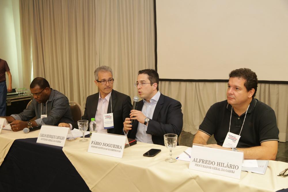 Fabiano Paschoal, Carlos Henrique Carvalho, Fabio Nogueira e Alfredo Hilário / Foto: Lula Aparício