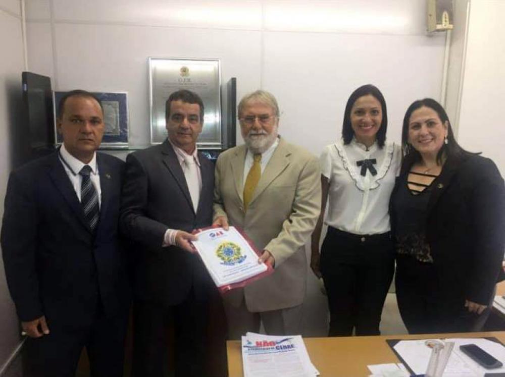 Celso Gonçalves e Farid Abrão David