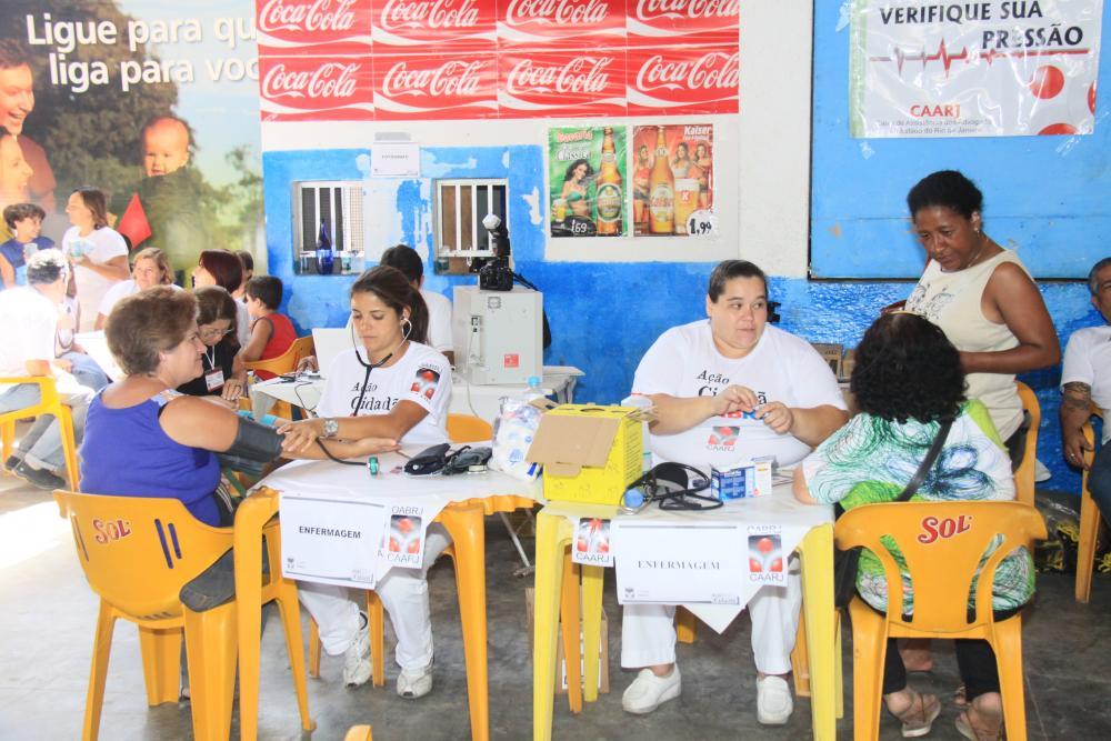 Ação social 'Reage Friburgo' / Foto: Lula Aparício
