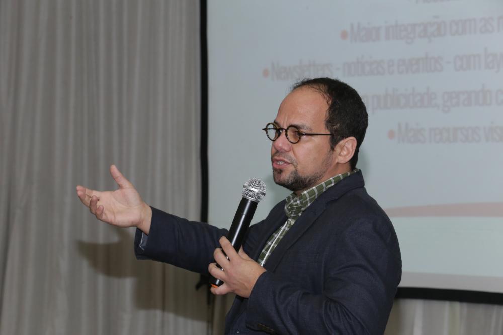 Marcelo Moutinho apresentou o projeto do novo Portal da OAB/RJ / Foto: Lula Aparício