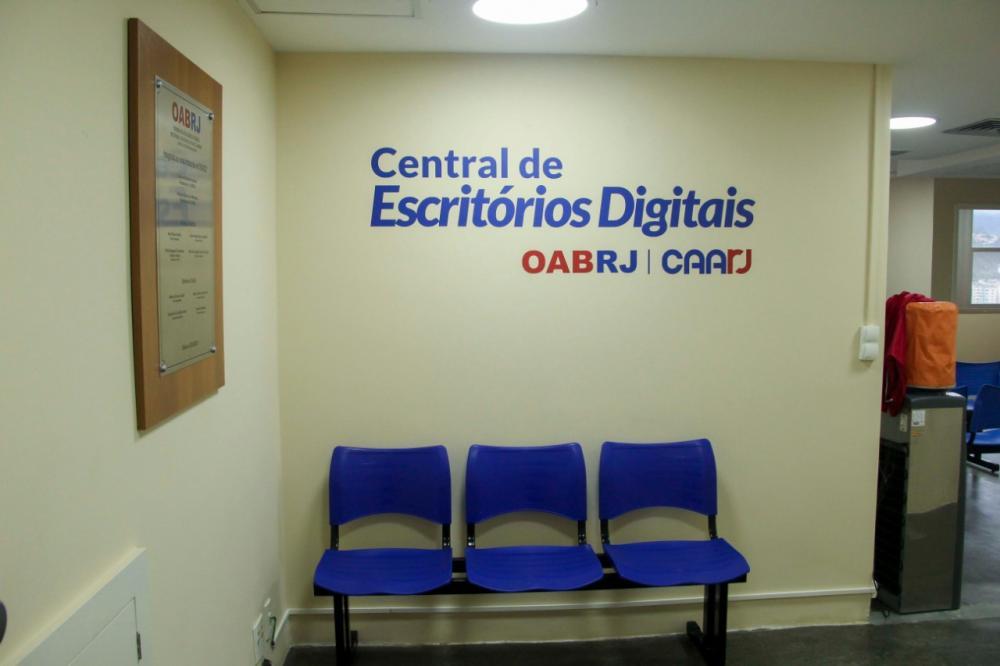 Central de Escritórios Digitais / Foto: Bruno Marins