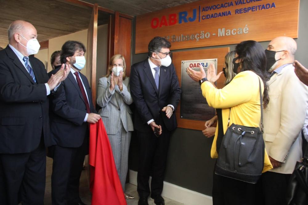 Inauguração das melhorias na sede da Subseção de Macaé / Foto: Bruno Mirandella