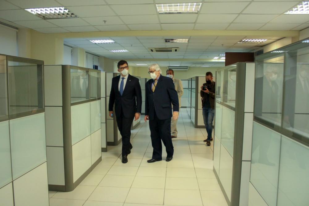 Luciano Bandeira e  Sergio Romay / Foto: Bruno Mirandella