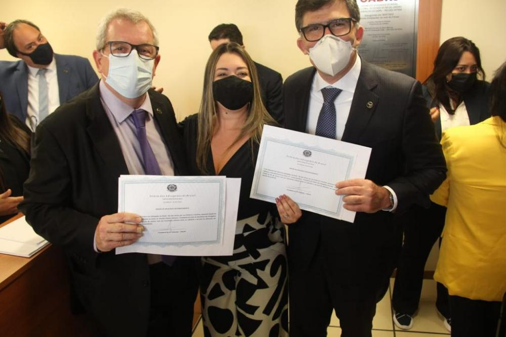 Ricardo Menezes, Michelle Mansur e Luciano Bandeira / Foto: Bruno Mirandella