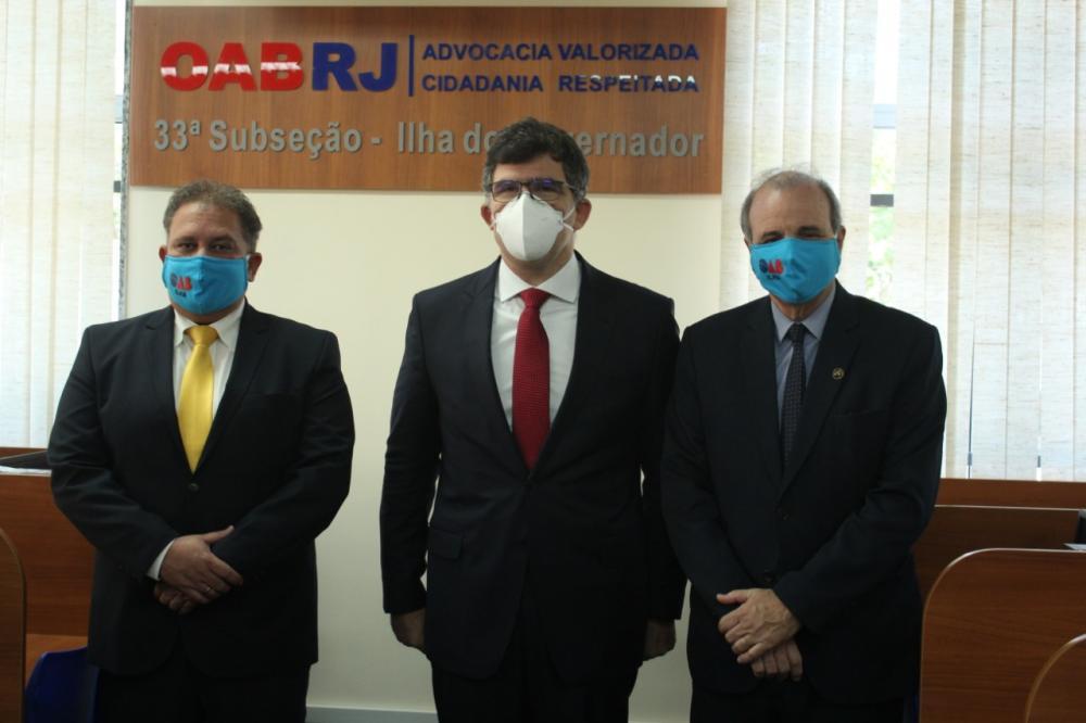 Franklin Barretto, Luciano Bandeira e Luiz Carlos Varanda