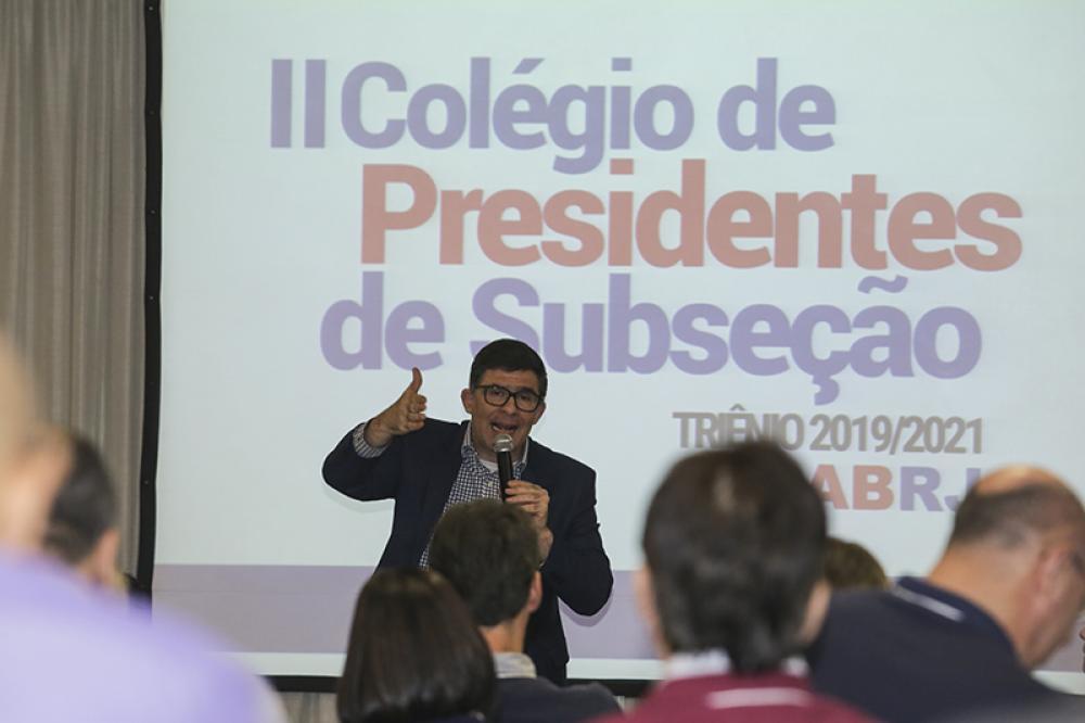 Luciano Bandeira apresenta o Portal da Transparência e o programa Anuidade Zero / Foto: Lula Aparício