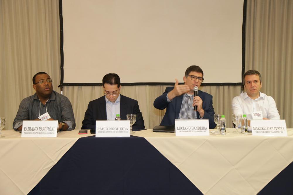 Fabiano Paschoal, Fábio Nogueira, Luciano e Marcello Oliveira / Foto: Lula Aparício
