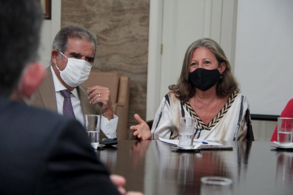 Presidente do TRT1, a desembargadora Edith Tourinho afirmou que há estudos para a realização de audiências híbridas na corte / Foto: Bruno Marins
