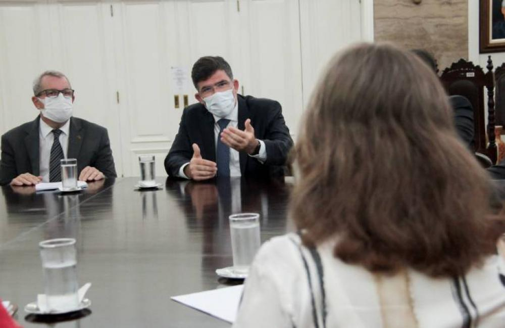 Presidente da OABRJ, Luciano Bandeira cobrou plano de retomada das atividades presenciais / Foto: Bruno Marins