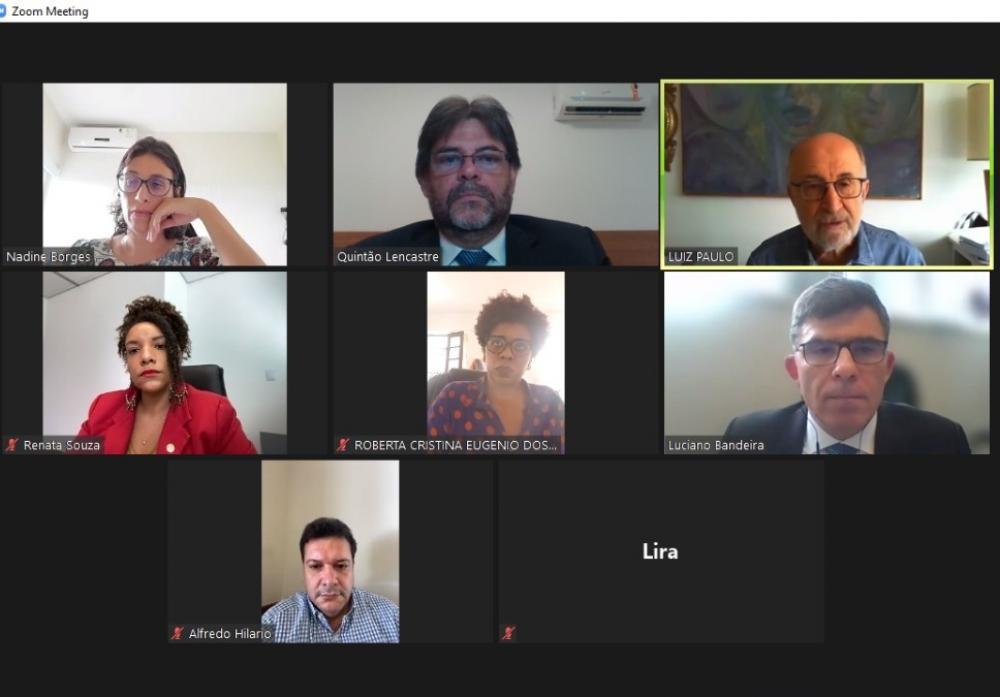 OABRJ participou de reunião virtual na Alerj sobre a pauta