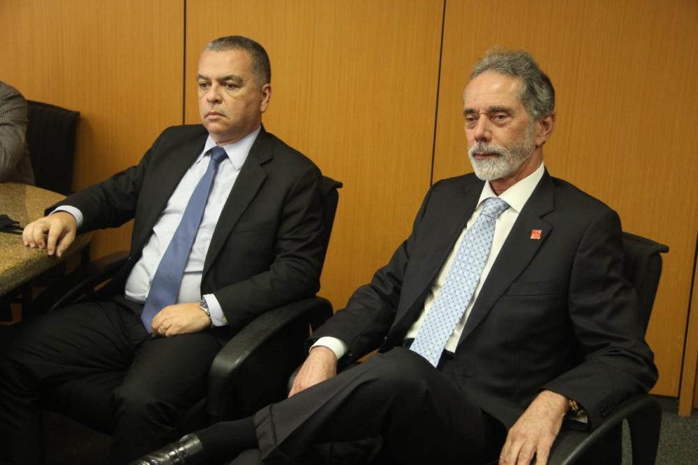 Carlos André Pedrazzi e Claudio Goulart / Foto: Bruno Mirandella