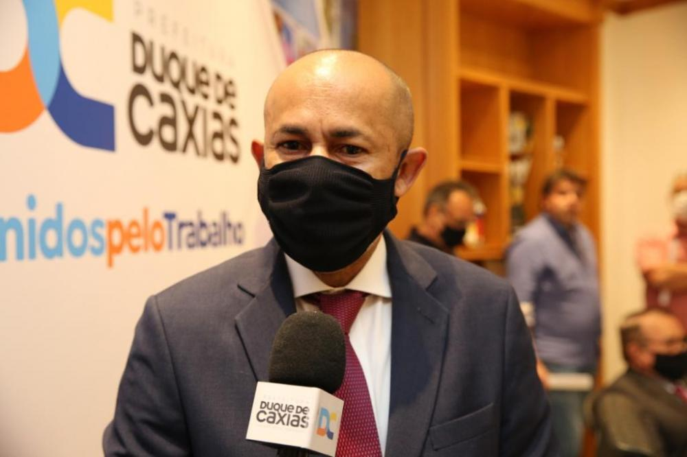 Vagner Sant'Ana, presidente da Subseção de Duque de Caxias / Foto: Divulgação