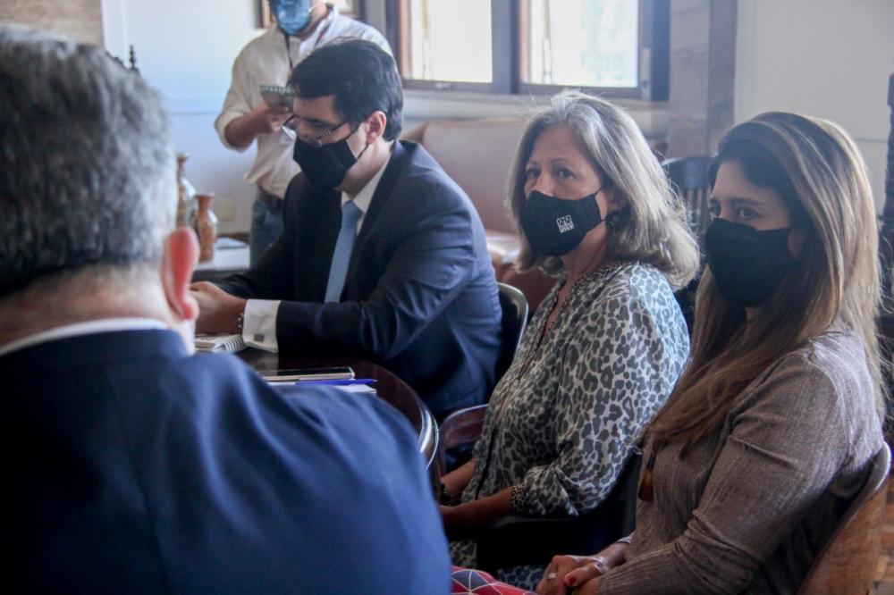 Representantes do TRT1 / Foto: Bruno Mirandella