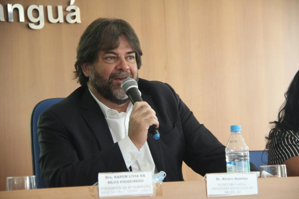 Secretário-geral da OABRJ, Álvaro Quintão / Foto: Bruno Marins