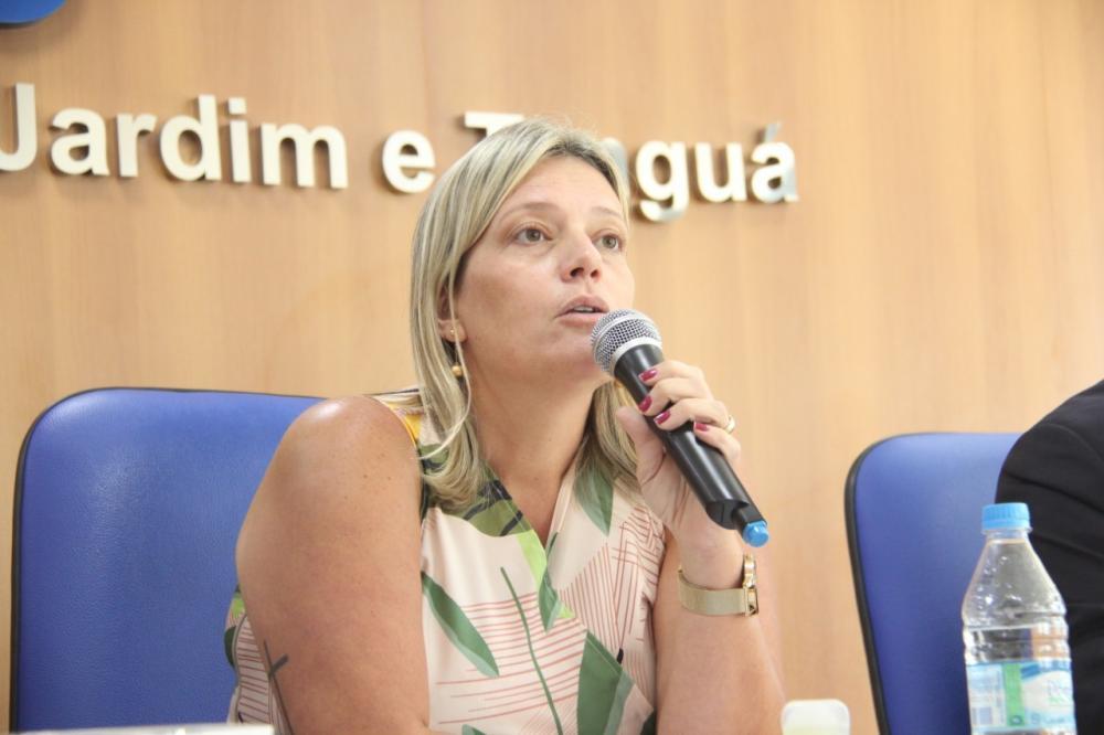 Presidente da OAB/Rio Bonito, Karen Figueiredo /  Foto: Bruno Marins