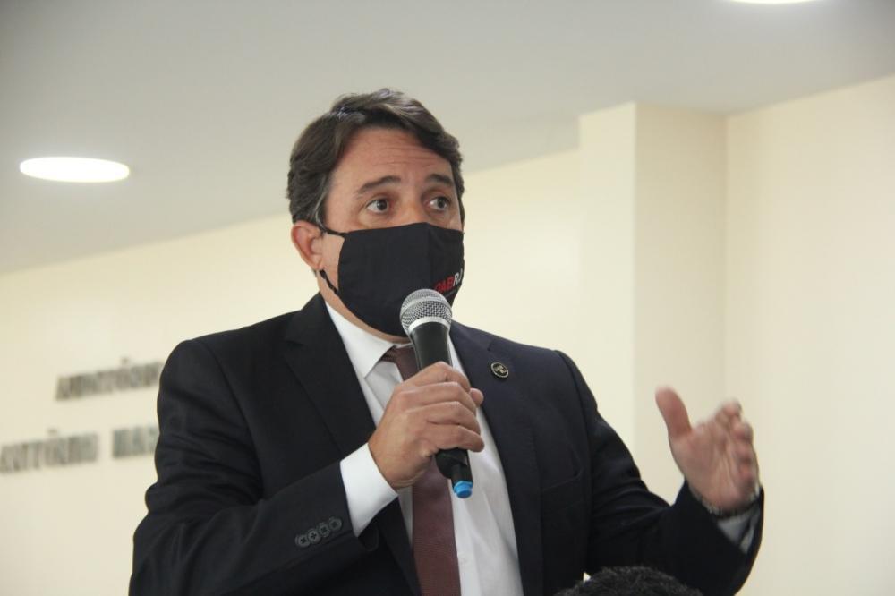 Presidente da OAB/Itaboraí, Lauro Mattos / Foto: Bruno Marins
