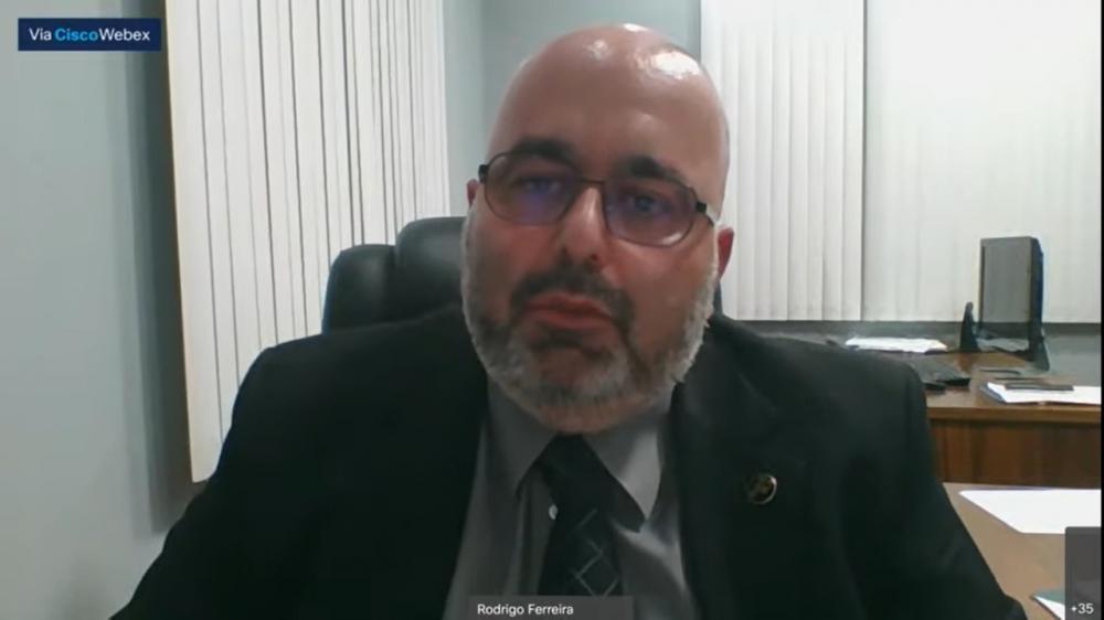 Rodrigo Ferreira, presidente da OAB/Teresópolis