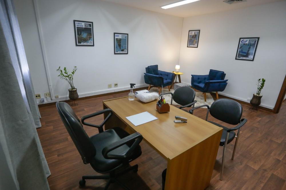 Sala de Atendimento às Vítimas de Violência da Caarj / Foto: Flávia Freitas