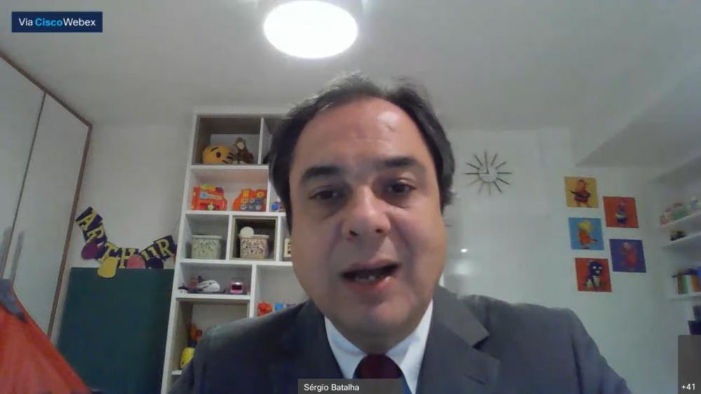 Sérgio Batalha, presidente da Comissão da Justiça do Trabalho da OABRJ