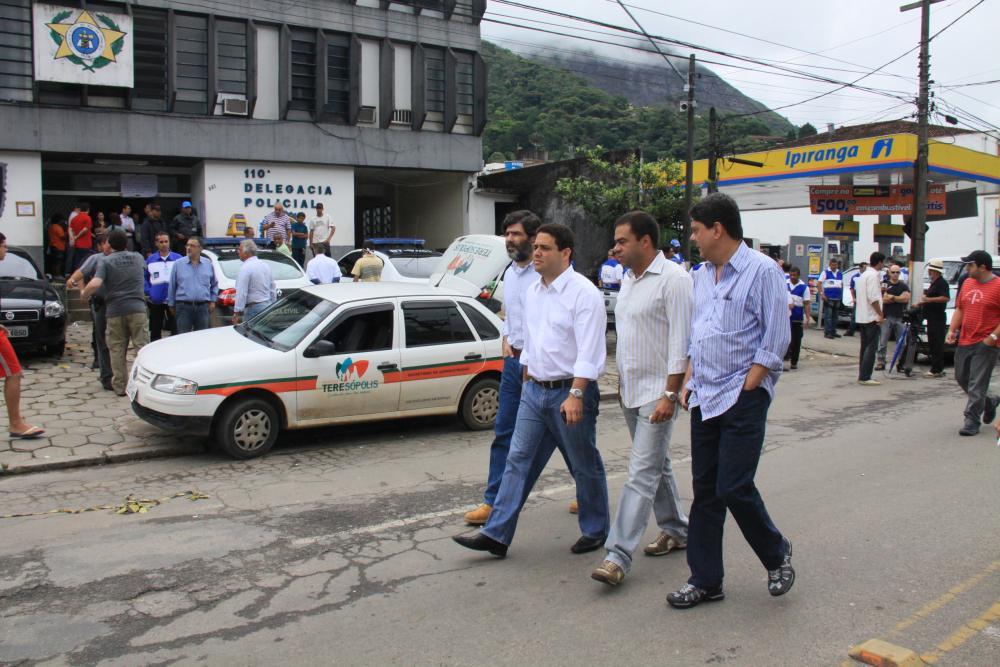 Representantes da Seccional em visita a Teresópolis / Foto: Lula Aparício